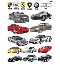 Sports Cars BMW AUDI Wall Stickers Art Decal Decor Kids Children Bed Nursery