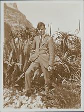 Espagne, Gibraltar, avant le départ pour Marseille  Vintage silver print, Proven