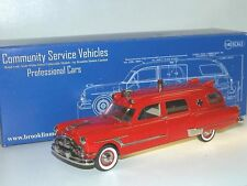 Brooklin CSV 19, 1953 Henney-Packard Station Ambulance, Ambulanz, 1/43