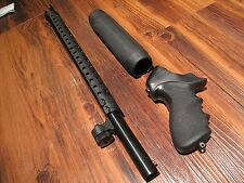 "HOME DEFENSE KIT Remington 870 18"" 18.5 Barrel Hogue Pistol Grip Heat Shield"