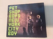 Pet Shop Boys New York City Boy CD RARE Promo 99/00 Tour Dates On Back  COOL!