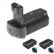 BATTERY GRIP BG-E6 FOR CANON EOS 5D MARK II 2 DSLR CAMERA + 2x LP-E6 BATTERY