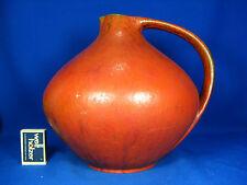 "Rare Ruscha Keramik  ""Vulcano"" glaze Kurt Tschörner Design pottery jug vase 315"
