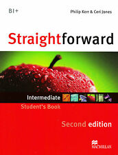 Macmillan STRAIGHTFORWARD Second Edition INTERMEDIATE Student's Book @NEW 212 Ed