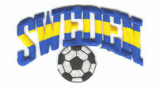 1994 WORLD CUP SOCCER PARTICIPATING COUNTRY PATCH FROM SWEDEN