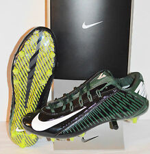 New $155 Nike Vapor Carbon Elite 2.0 TD Flywire Black/Green Oregon Ducks sz 13.5