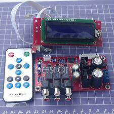 Preamplifier Board Kit PGA2311U 3 Input Signal Switching Remote Volume Control