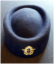 AEROFLOT - Soviet Airlines Flight Attendant Stewardess Cap Hat from 1970-s.