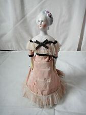 Antique China shoulder head doll AUTOPERIPATETIKOS 10 inches tall CIRCA 1865 /70