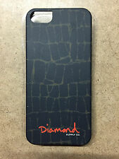 Diamond Supply Co iPhone 5 Case - Croc Black RRP £30.00