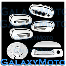 97-03 Ford F150 Triple Chrome 4 Door Handle+Keypad+w/PSG KH+Tailgate+GAS Cover