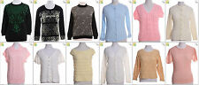 JOB LOT OF 25 VINTAGE WOMEN'S KNITS - Mix of Era's, styles and sizes (17841)