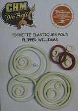 POCHETTE D'ELASTIQUES POUR FLIPPER WILLIAMS GOLD RUSH