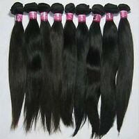 Peruvian/Malaysian/ Brazilian 100% Real Virgin Remy Hair Weave Extensions 100g