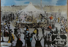 Aushangfoto EIN AMERIKANER IN PARIS Gene Kelly + Leslie Caron