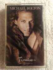 Michael Bolton - Timeless (The Classics) - Cassette Tape - 1992 Sony/Columbia