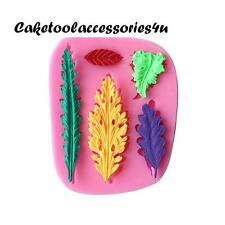 Leaf Leaves Silicone Mould Cookie Cutters Cake Decoration Baking Clay Chocolate
