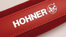 New Hohner Straps - ACC11 Red Accordion Leather Straps Large Anacleto Corona