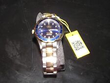 NEW NWT *INVICTA* Men's Pro Diver 2-Tone 18K Plated Blue/Gold Watch 8935 NIB