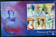 Liberia 1997 MNH SS, Princess of Wales, Diana, In our hearts, Paintings