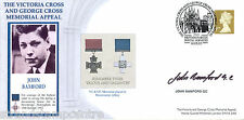 2003 Victoria & George Cross Memorial - Signed by John Bamford GC