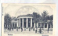 D 239 - Aachen Rheinland, Passanten am Elisenbrunnen, Fahrrad, ungelaufen