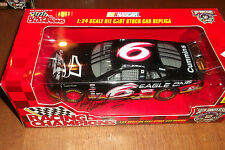 MARK MARTIN AUTOGRAPHED #6 EAGLE ONE RACING CHAMPIONS 50th 1:24 SCALE (47