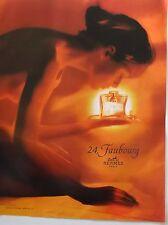 publicité  PARFUM   24 FAUBOURG  de  HERMES           2002 N° 4325