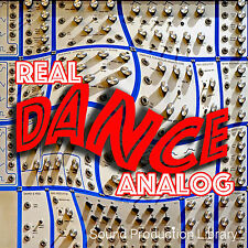 REAL DANCE ANALOG - Sound Production Library 8.6GB on 2 DVD