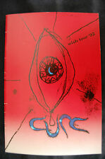 THE CURE (ROBERT SMITH) 1992 WISH TOUR -  CONCERT PROGRAM BOOK