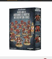 Warhammer 40k Blood Angels Archangels Orbital Intervention Force - out of box