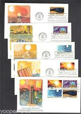 1982 ENERGY CONSERVATION 2006-09 Fleetwood 5 FDCs 1 w block of 4 SYNTHETIC FUELS