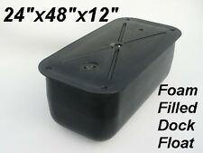 "24""x48""x12"" Floating Foam Filled Boat Dock Float Drum / FREE Shipping"