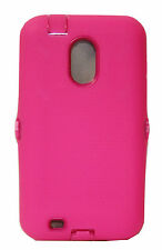 Hard Pink Protector Hard Cover Case for Samsung Galaxy S II 2 Epic Touch 4G D710