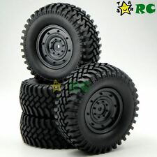 4pcs RC 1/10 1.9'' 100mm Tires Wheels For Axial tamiya Wild Willy rc4wd Crawler