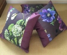 Designers Guild Alexandria Amethyst Fabric Cushion Cover Pillow 20""