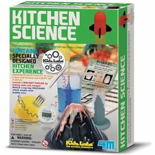 4M Kidz Labs KITCHEN SCIENCE KIT - Create 6 Kitchen Experiments