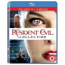 RESIDENT EVIL - 1 TO 4 BOXSET - BLU-RAY - REGION B UK