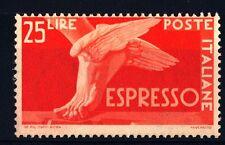 """ITALIA REP. - Espressi - 1945/1952 - Serie """"Democratica"""" - lire 25"""