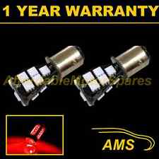 2X 380 BAY15D 1157 XENON RED 21 SMD LED STOP TAIL BRAKE LIGHT BULBS ST201602