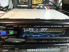 rare alpine  CDA5755S sound field processor TOP HI-END RADIO AUTORADIO HEADUNIT