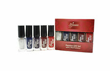 LA FEMME NAIL POLISH VARNISH SET OF 5 PASSION SET BOXED GIFT 6ML