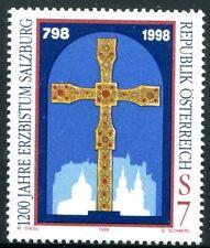 Österreich Austria 2252  1200 Jahre Erzbistum, Salzburg  - Rupertuskreuz 1998 **