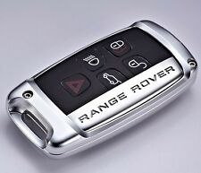 Land Range Rover Discovery Evoque cover case keychain leather holder ALUMINIUM