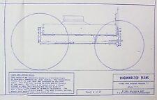 Wagon Master Piano Box Horse Drawn Wagon Vintage 1980's Model Plans