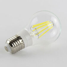E27 8W 85-265V AC Cool White Retro Filament LED Bulb Light Lamp