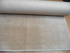 155 x 35 inches (394x 89cm) PEACHY BEIGE soft short pile CARPET RUNNER /RUG 3072