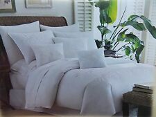 TOMMY BAHAMA~TROPICAL HIDEAWAY~WHITE  PALM TREE ~4 PIECE QUEEN COMFORTER SET~NEW