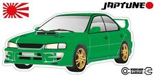 Subaru WRX Impreza  V1 - Green with Factory Gold Rims - JDM - JapTune Brand