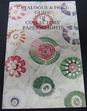 Catalogue & Price Guide Of Collectors' Paperweights L.H. Selman 1975 Paperback
